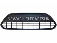 FORD FOCUS 2008-2011 FRONT BUMPER CENTRE GRILLE WITH BLACK FRAME NEW HIGH QUALITY FREE DELIVERY