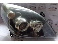 Vectra/Signum HEADLIGHT drivers/offside SRI/elegance/Elite CDTi facelift 54/05-58/08 (vauxhall/light