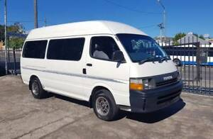 1992 Toyota Hiace Commuter diesel wheel chair van/ bus TIDY $9999 Highgate Hill Brisbane South West Preview