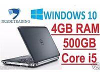 Dell Latitude , Core i5-2520M 2.5GHz, 500GB, 4GB Win 7 Pro HDMI WOW