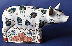Boxed Royal Crown Derby Percy Piglet Paperweight