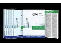 CFA Schweser 2018 Kaplan University books level 1,2 available