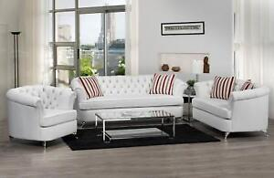 White Canadian Made Sofa at a very great deal (SF2013)