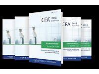 2018 CFA Level 1 Schweser Notes & Premium Materials
