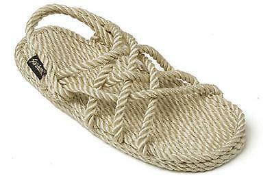 6490ed14e213 Mens rope sandals ebay JPG 400x260 Rope flip flops