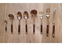 Antique Siam (wedding) cutlery, 500+ pieces