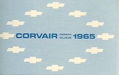 1965 Corvair Owners Manual