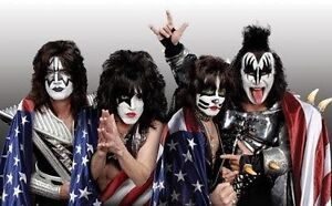 KISS FREEDOM TO ROCK TOUR Front Row ticket