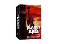 THE PLANET OF THE APES (5 MOVIE) SPECIAL EDITION BOXSETT REGION 2 DVD