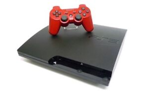 Sony PS3 with Two Controllers and Games