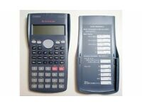 Casio school calculator Casio FX-82MS/used/very good working