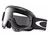 Oakley XS O Frame Goggle Jet Black
