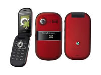 *Unlocked* Red Sony Ericsson Z320i Camera Mobile Phone *Good Condition*