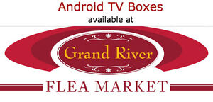 Android TV Boxes & IPTV Boxes at Grand River Flea Market