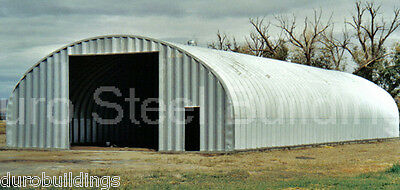 Durospan Steel 35x50x16 Metal Building Kit Pole Barn Alternative Factory Direct