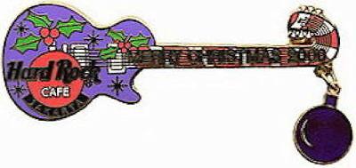 ta 2000 Christmas Pin Urlaub Gitarre Ornament Dangler #3807 (Gitarre-ornament)