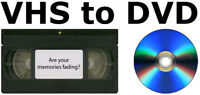 Service - Family VHS to DVD Transfers