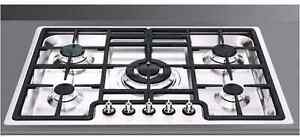 BRAND NEW SMEG (PGA75-4) 5 BURNER NATURAL GAS STOVE  $1499 Auburn Auburn Area Preview