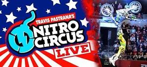 Nitro Circus Tickets - BEST SEATS - BEST PRICES - 200% GUARANTEE - ONLY 3% Service Fee on Orders!!!