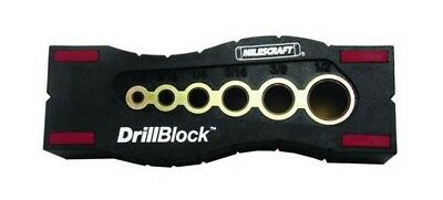 Drilling Template (Milescraft 1312 Drill Block - Hand-Held Drill Guide for Drilling Straight)