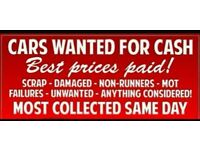 Scrap cars wanted best price paid