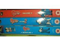 AMERICAN DAD DVD boxset seasons 1-3 + 5.