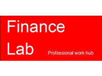 1-3 office desks for bright Finance Professionals and start ups - Finance Lab