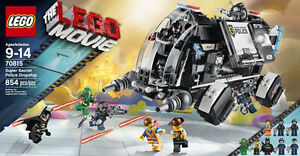 LEGO MOVIE Super Secret Police Dropship - RETIRED and UNOPENED
