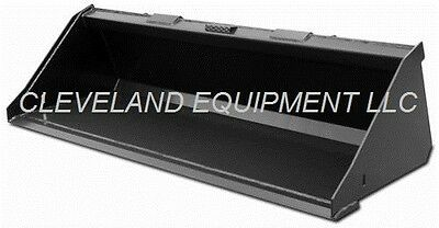 New 72 Sd Low Profile Bucket Skid-steer Loader Attachment Bobcat Caterpillar 6