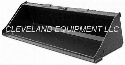 New 72 Sd Low Profile Bucket Skid-steer Loader Attachment John Deere Mustang 6