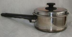 Waterless cookware ebay for Kitchen craft waterless cookware