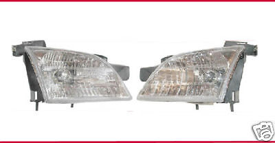 LH Driver & RH Passenger Side Headlights Headlamp L & R Chevy Venture , Montana