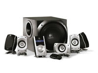 Logitech Z5500 Digital PC Multimedia Home Theatre Speaker System - 505 Watt Mint condition. Boxed