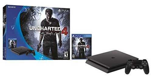 Sony PlayStation 4 500GB Uncharted: The Nathan Drake Collection Bundle Black 3001169