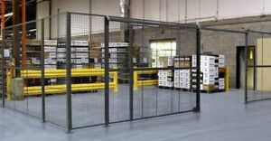Wire Mesh Security Partitions