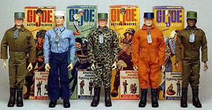 Vintage GI Joe Figures and Accessories from 1964-1978 Era