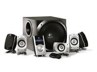 Logitech Z5500 5.1 Digital PC Multimedia Home Theatre Speaker System