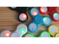 FIDGET SPINNERS LED`s BRAND NEW IN BOX. ( VISIT MY SH*P) (CAN BUY ONE PIECE)