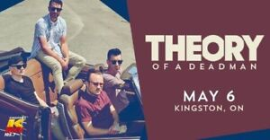 Theory Of A Deadman - Live In Kingston Concert Tickets!
