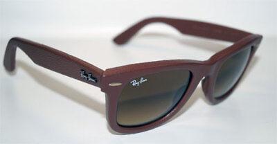RAY BAN Sonnenbrille Sunglasses RB 2140 QM 116985 Größe 50 Wayfarer Leather