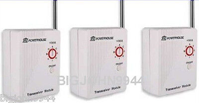 X-10 Powerhouse 3 Pack X10 Tm751 Transceiver With Control...