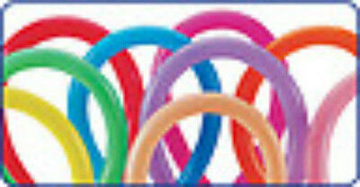 260 Party Twist Latex Balloons Fashion Colors, 10 Count - Balloon Twisting