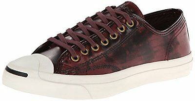 Converse Jack Purcell Box Leather Casual Shoe, 144348C  Oxheart/Eg Sz 12 - Converse Costume