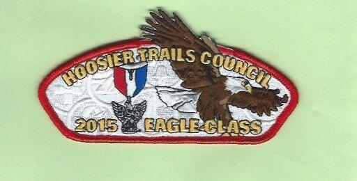 HOOSIER TRAILS COUNCIL 2015 EAGLE CLASS CSP  SA-37  300 MADE