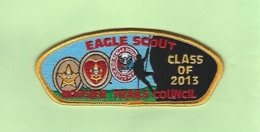 HOOSIER TRAILS COUNCIL EAGLE SCOUT CLASS OF 2013 CSP  SA-34  150 MADE