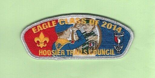 HOOSIER TRAILS COUNCIL EAGLE CLASS OF 2014 CSP  SA-36  175 MADE