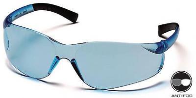 Safety Glasses Pyramex Ztek Inf Blue Lens 2 Pair Ansi Uv Protection S2560s