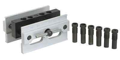 "Self Centering Doweling Wood Jigging Dowel Drill Hole Jig Fixture 1/4"" to 1/2"""