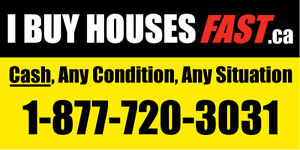 I BUY HOUSES FAST,CASH!! ANY CONDITION, ANY SITUATION!! Cambridge Kitchener Area image 1