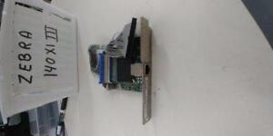 ZEBRA 47560-100  170XI  140XI  NETWORK PRINT SERVER ETHERNET CARD
